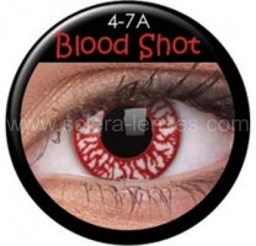 Blood Shot Prescription Contact Lenses (1 pcs)