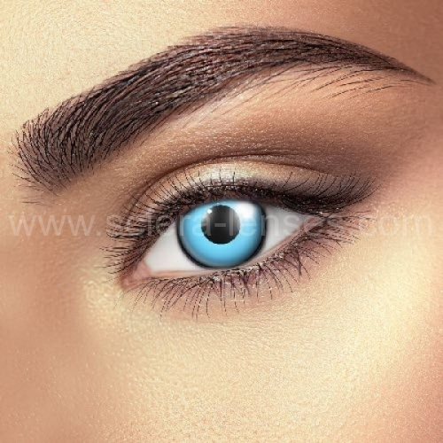Blue Manson Contact Lenses (1 pair)