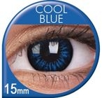 Big Eyes Cool Blue Prescription Colored Lenses (1 pcs)