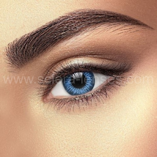 Big Eye Cool Blue Contact Lenses (1 pair)