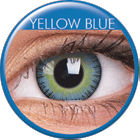 Big Eyes Fusion Yellow Blue Prescription Colored Lenses (1 pcs)