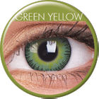 Big Eyes Fusion Yellow Green Prescription Colored Lenses (1 pcs)