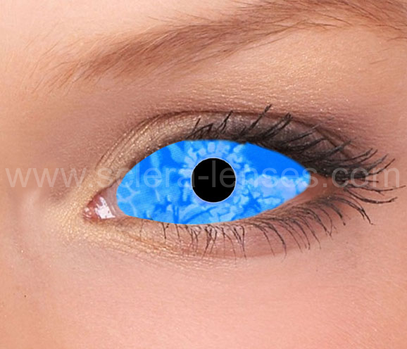 Ice Zombie Sclera Contact Lenses (1 pair)