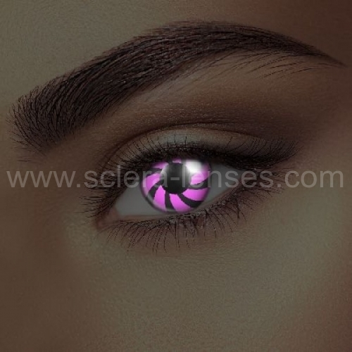 Glow Pink Optical UV Contact Lenses (1 pair)