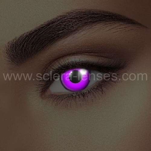 Glow Violet UV Contact Lenses (1 pair)