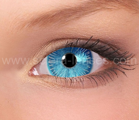 Ice Walker Mini Sclera Contact Lenses (1 pair)