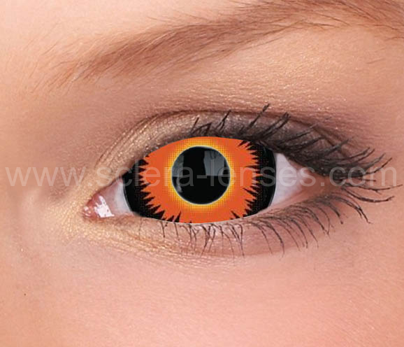 Diablo Mini Sclera Contact Lenses (1 pair)