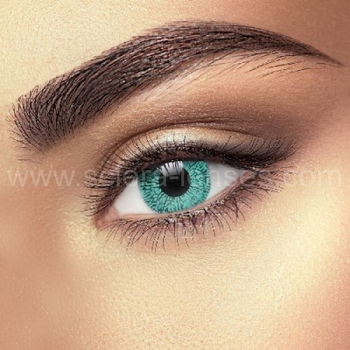 One Tone Aqua Contact Lenses (1 pair)
