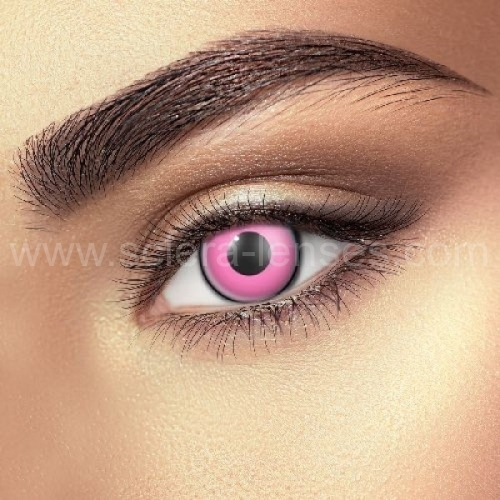 Pink Eye Contact Lenses (1 pair)