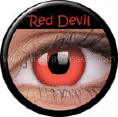 Red Devil Prescription Contact Lenses (1 pcs)