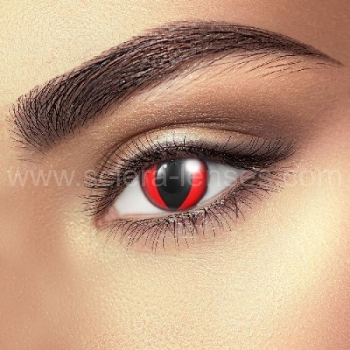 Red Cat Contact Lenses (1 pair)
