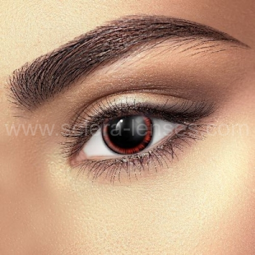 Red Manga Contact Lenses (1 pair)