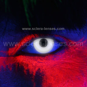 46621c9607 Glow White UV Contact Lenses (1 pair)